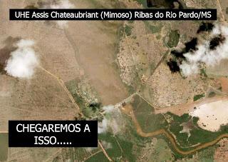 Sergius Gandolfi - desmatamento acaba com hidrelétrica de Assis Chateaubriant