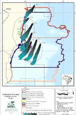 Simulação de vazamentos de petróleo no Parque Nacional Marinho de Abrolhos - Conservação Internacional