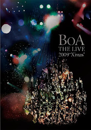 "DVD ""BoA THE LIVE 2009 X'mas"""