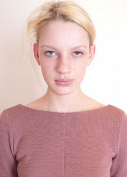 Louis Vuitton Model without Make-Up
