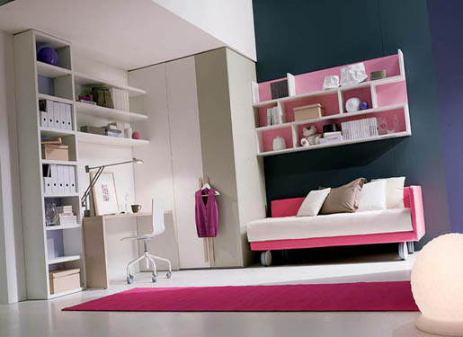 Modern bedrooms for teenage