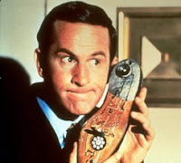 Maxwell Smart with shoe phone