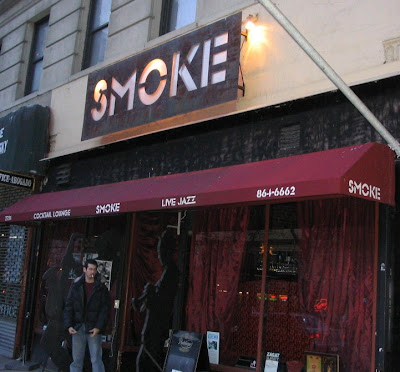 'Smoke' jazz club in Manhattan