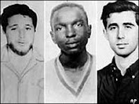 Civil rights workers murdered in Mississippi