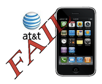 AT&amp;T iPhone - FAIL