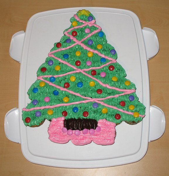 Cupcake Decorating Christmas Tree : Carpe Cupcakes!: Christmas Tree Cupcake Cakes