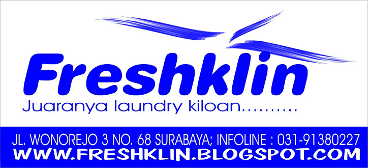kios cuci fresh klin laundry