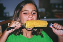 Ida Lou meets Merle's ear of Corn
