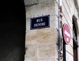 Rue de la Tentation...