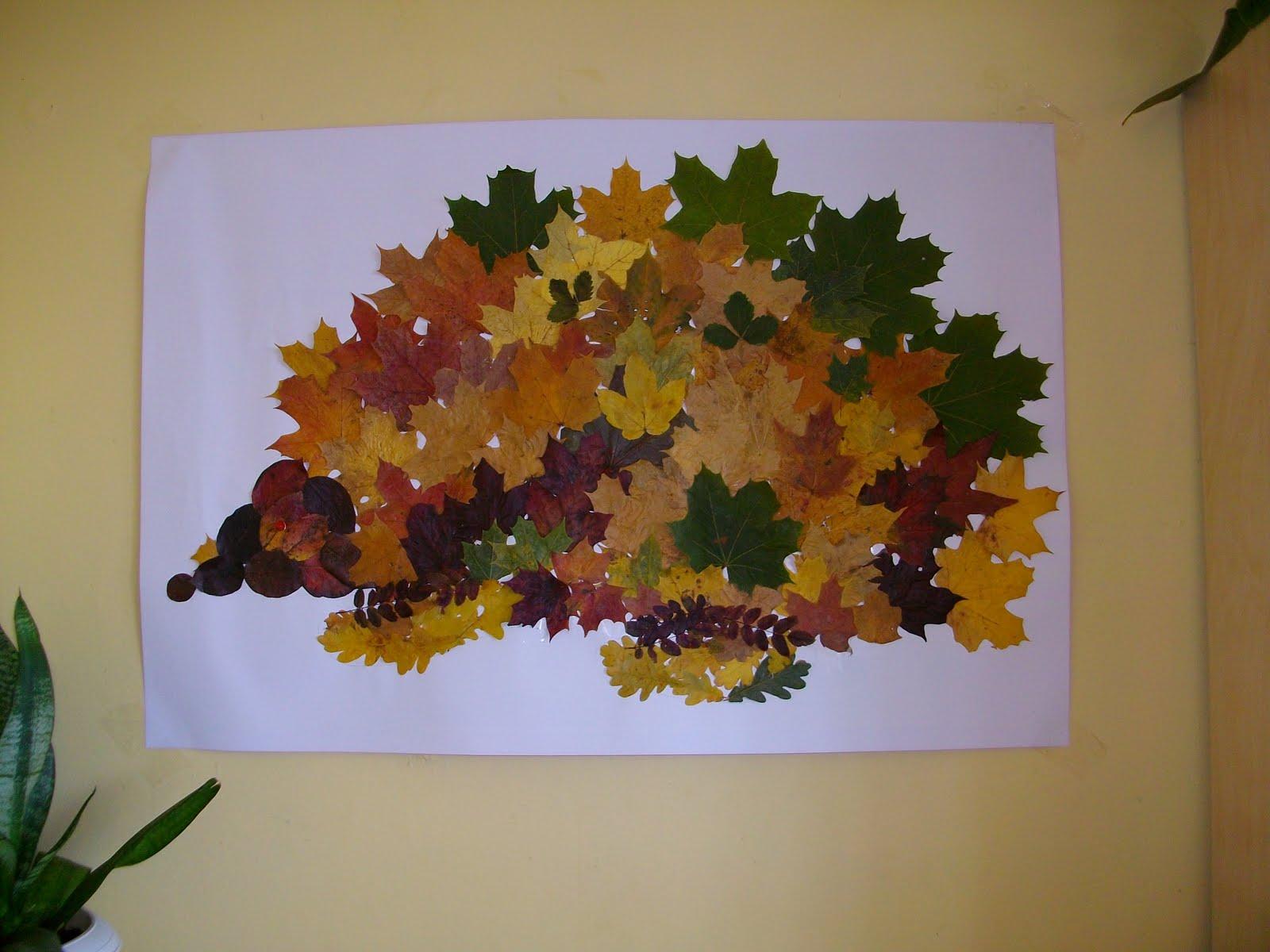 Поделки для 4 летнего ребенка на тему осень