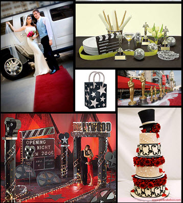 your wedding support get the look movie themed wedding
