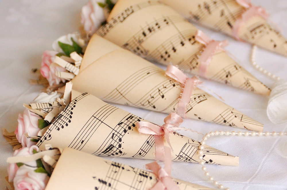 GET THE LOOK Music Themed Wedding