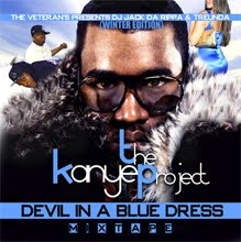"DJ JACK DA RIPPA-TRE UNDA   ""DEVIL IN A BLUE DRESS-THE KANYE PROJECT """