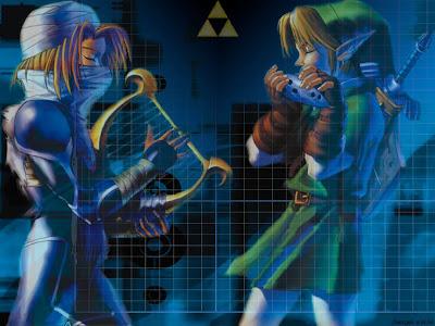 Entre Sheik y Link hay yaoi