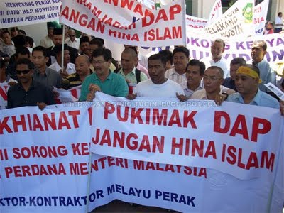 Antara isu-isu yang melibatkan non-Muslim