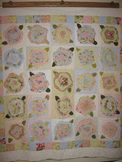 My French Rose Quilt - Quilting Board