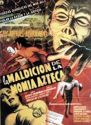 La maldicion de la momia azteca movie