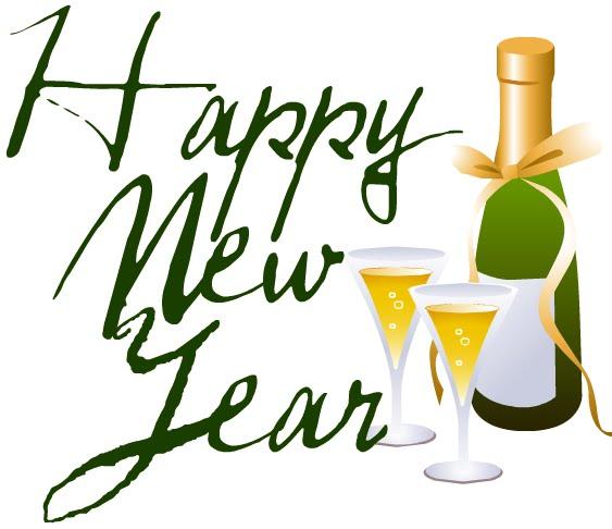 happy new year moving clip art - photo #45