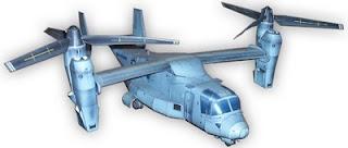 V-22 Osprey paper model
