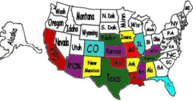 States we've Traveled