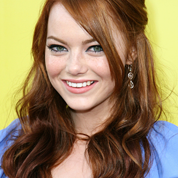 emma stone hair blonde. emma stone bikini photos