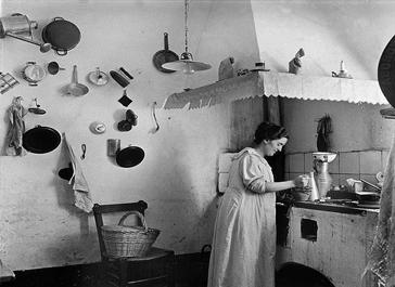 La cocina seg n ereaga la cocina retro - Cocinas de pueblo ...
