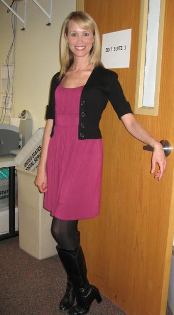 Tween Black Dress Sweater
