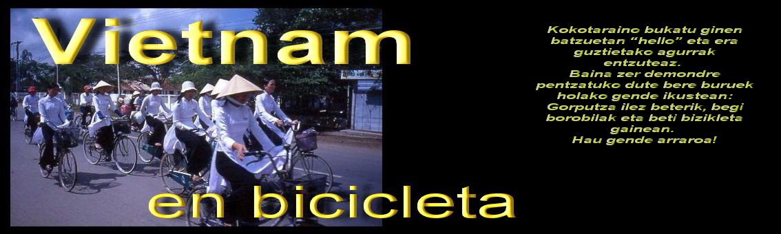 Vietnam en bici.