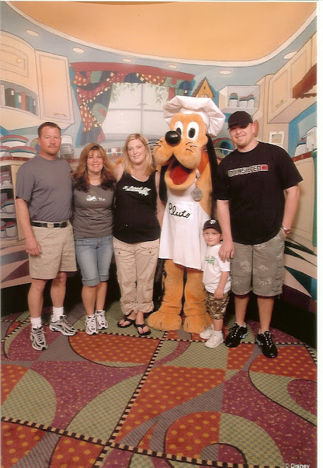 Disneyand with our Family