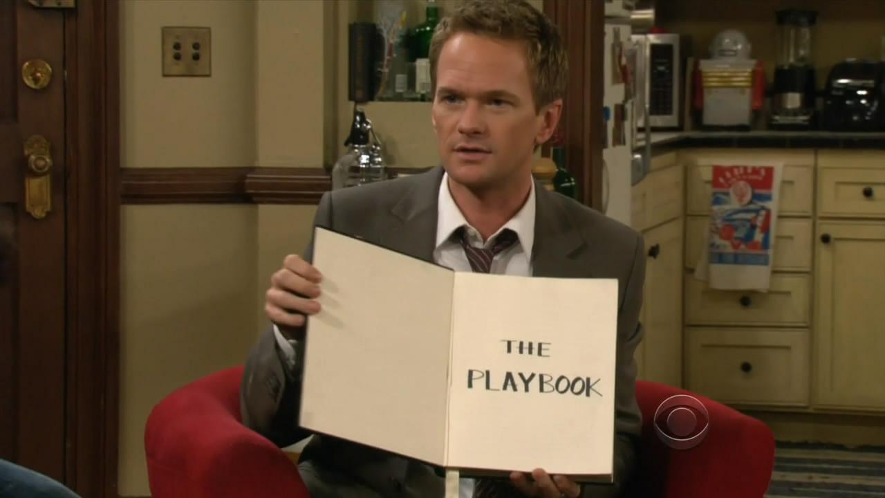 Capture Picture!: PlayBook [1]: Trucos para ligar de Barney Stinson