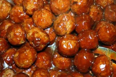 Deanna's Corner Cooking: Aunt Raye's Best Ever BBQ Meatballs