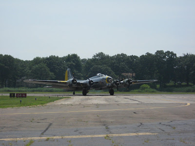 B-17G Liberty Belle at KBDR on 27 July 09