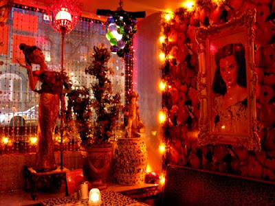 inside of yaffa cafe nyc