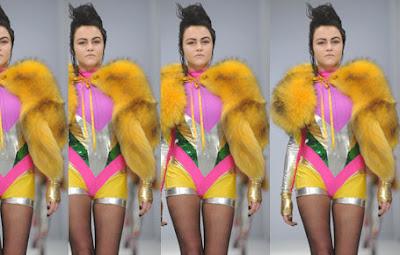 futuristic glam fashion