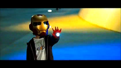 Mini Iron Man in Iron Man 2