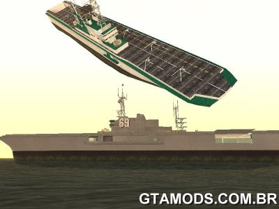 Navio Aircraft Carrier Tropic