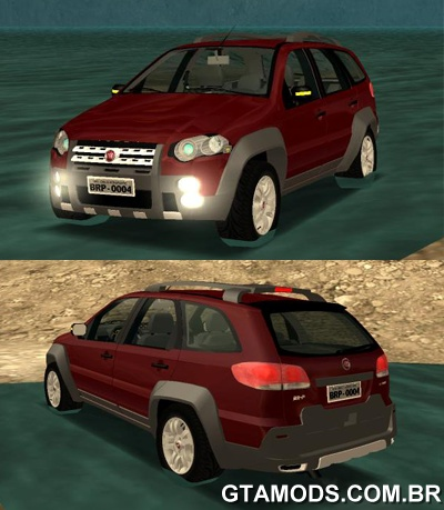Fiat Palio Weekend Adventure Locker 2010