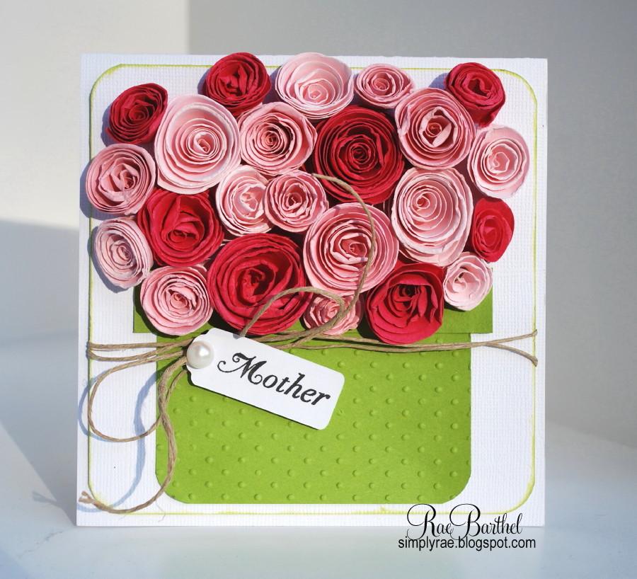 Подарок маме своими руками на день матери открытка