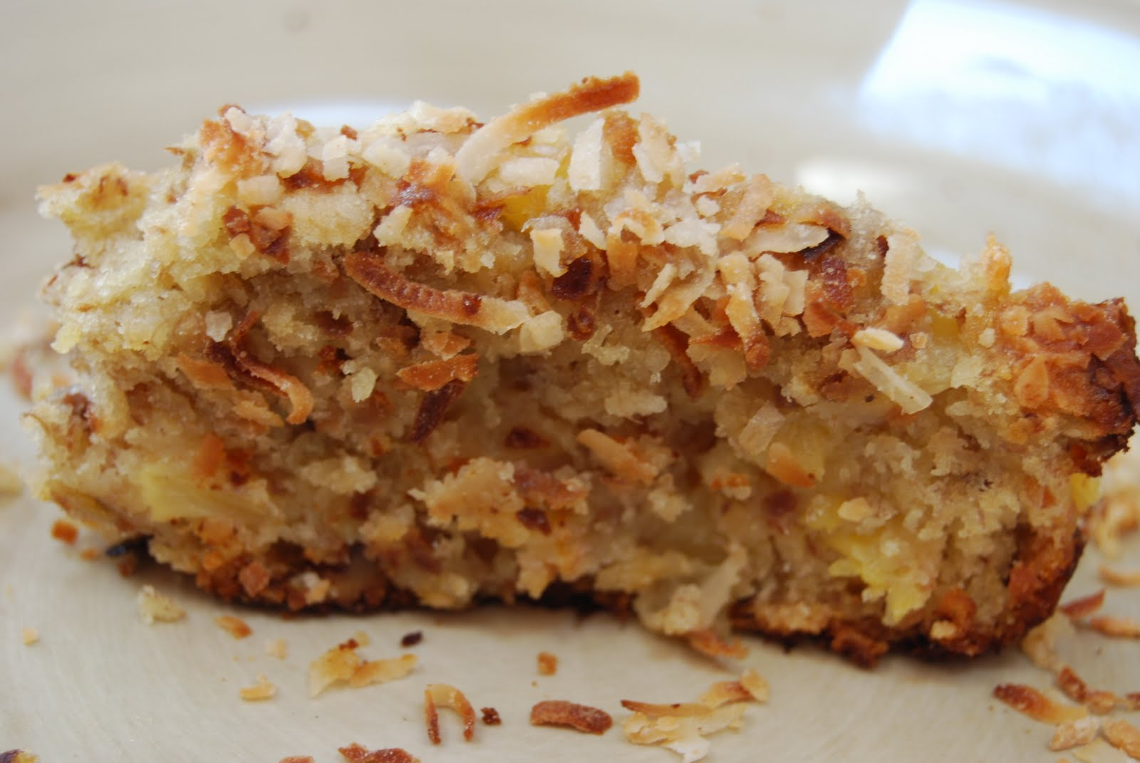 Toasted Coconut Pineapple Banana Bread - Macaroni and Cheesecake