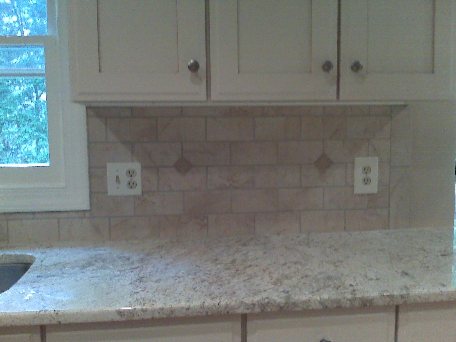 crackle ceramic subway tile backsplash for pinterest