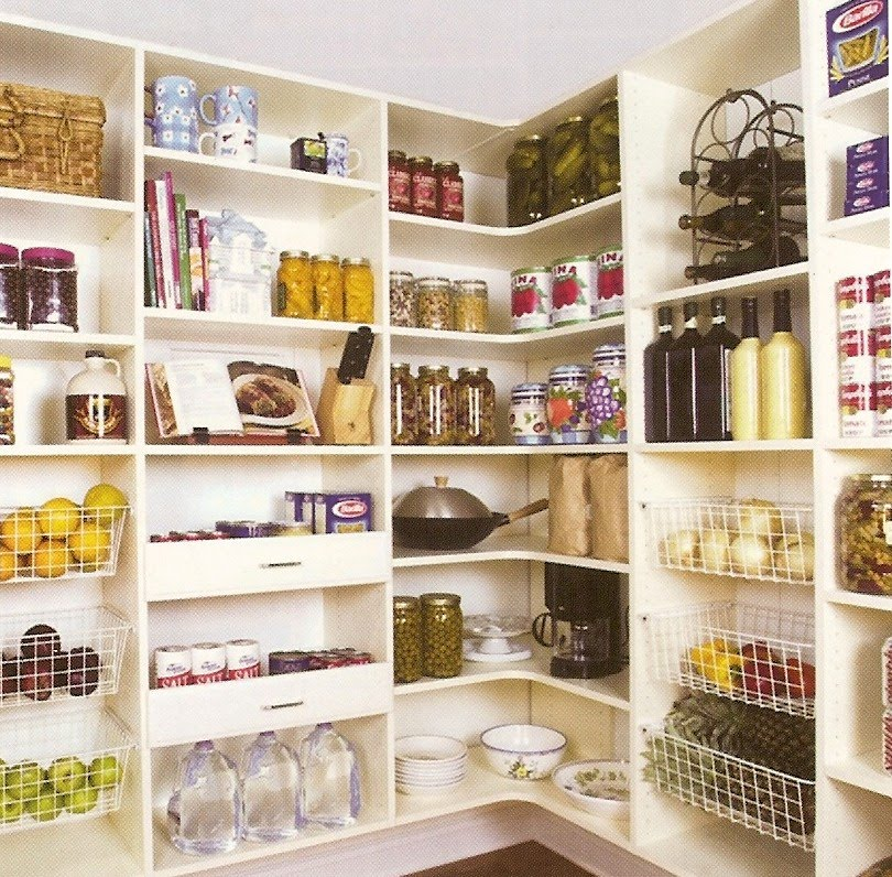 Effective Pantry Shelving Designs For Well Organized: Whitehaven: Pantry Redo And Inspiration