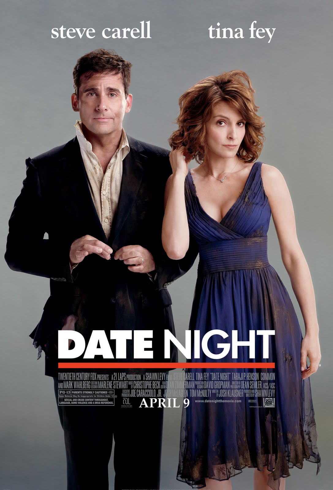 In Date Night, Steve Carell