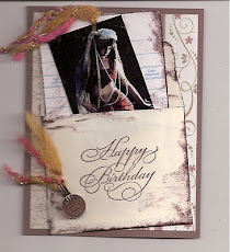 Belly Dance Birthday Card