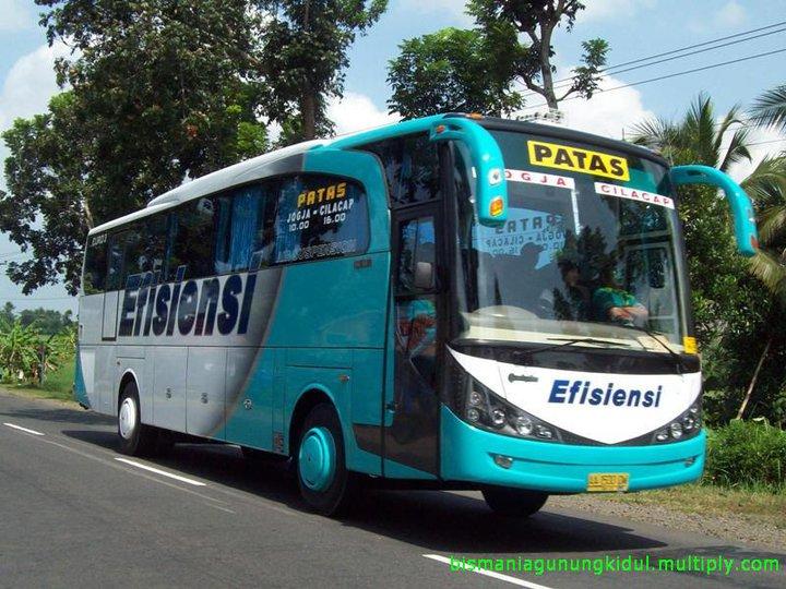 Bus Efisiensi Jogja-Cilacap