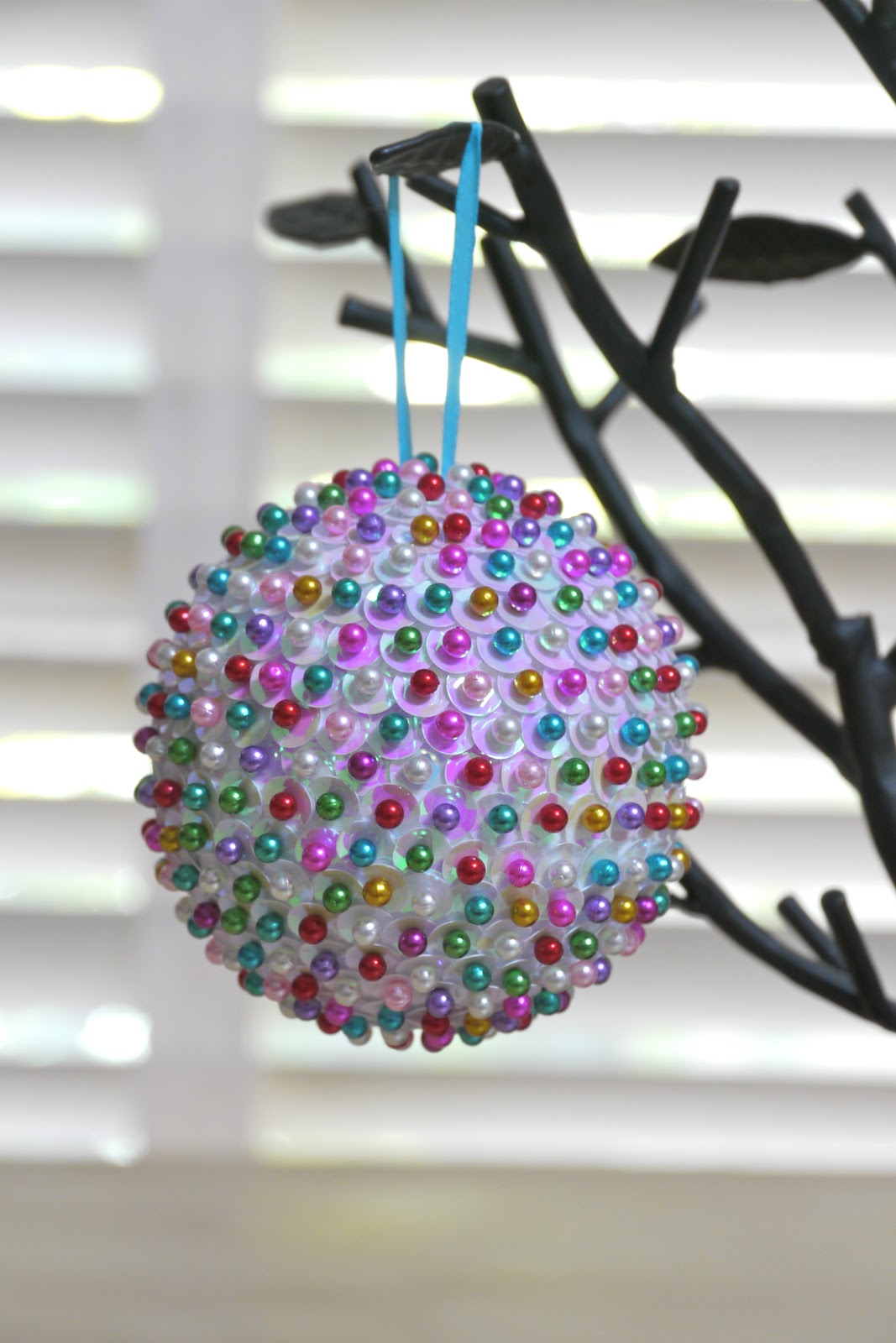 Full of craft ornament month sequined ornament for Crafts with styrofoam balls for kids