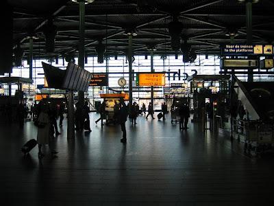 Lentokenttä: Schiphol