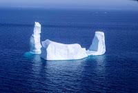 Jäävuori lähellä Baffinin saaren rannikkoa vuonna 1997