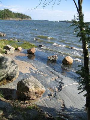 Saapuminen - rannalle