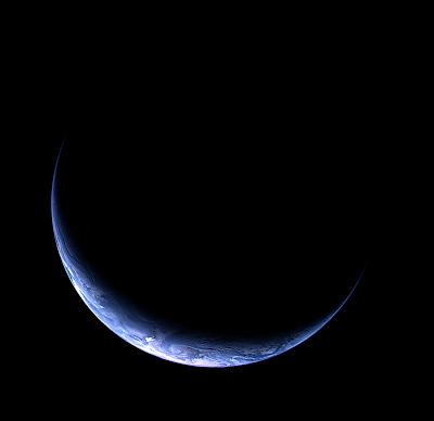 Maa - Rosettan OSIRIS-kameralla kuvattuna