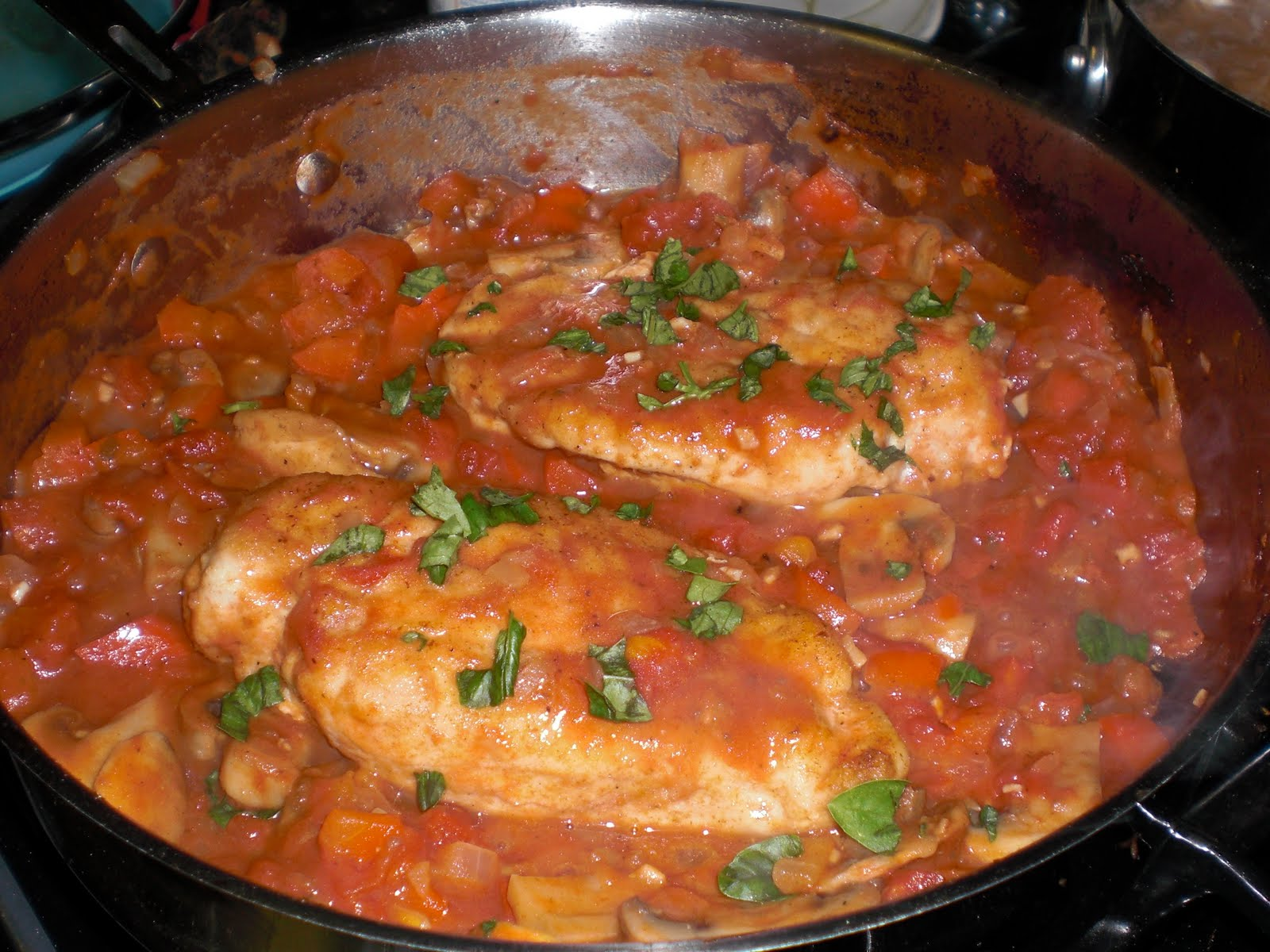 Chicken Cacciatore - Get Off Your Tush and Cook!